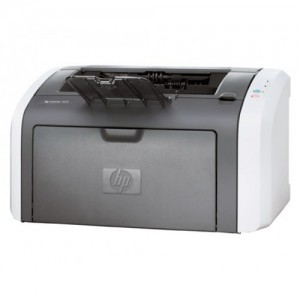 HP LaserJet 1012 лазерен принтер (употребяван)