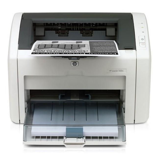 HP LaserJet 1022 лазерен принтер (употребяван)