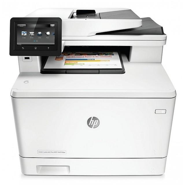 HP Color LaserJet Pro MFP M477fdw цветен лазерен мултифункционал