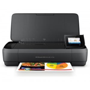 HP Officejet 252 Mobile All-in-one мастиленоструен мултифункционал