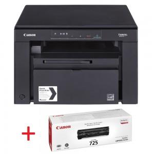 Canon i-SENSYS MF3010 лазерен мултифункционал + тонер касета