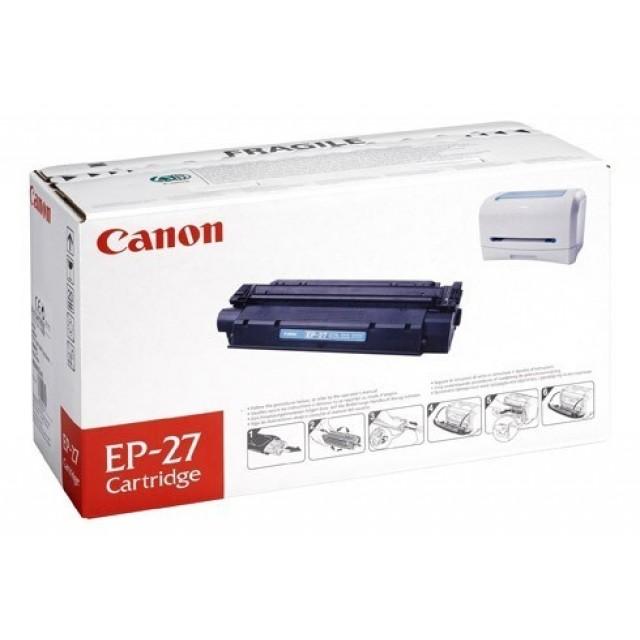 Canon EP-27 изкупуване на празна черна тонер касета