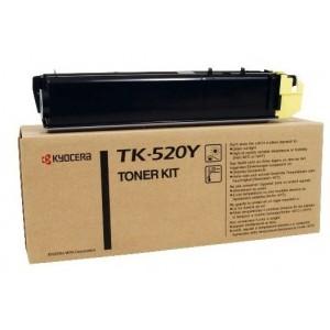 Kyocera TK-520Y изкупуване на празна жълта тонер касета