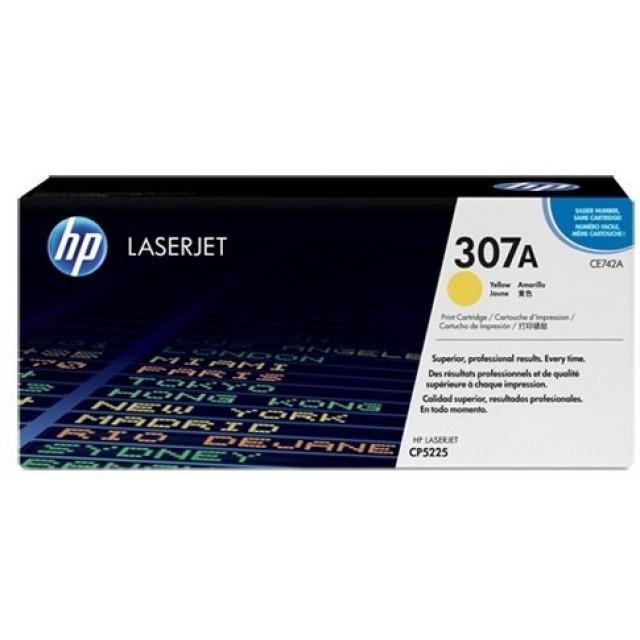 HP CE742A изкупуване на празна жълта тонер касета