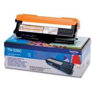 Brother TN-328C изкупуване на празна синя тонер касета