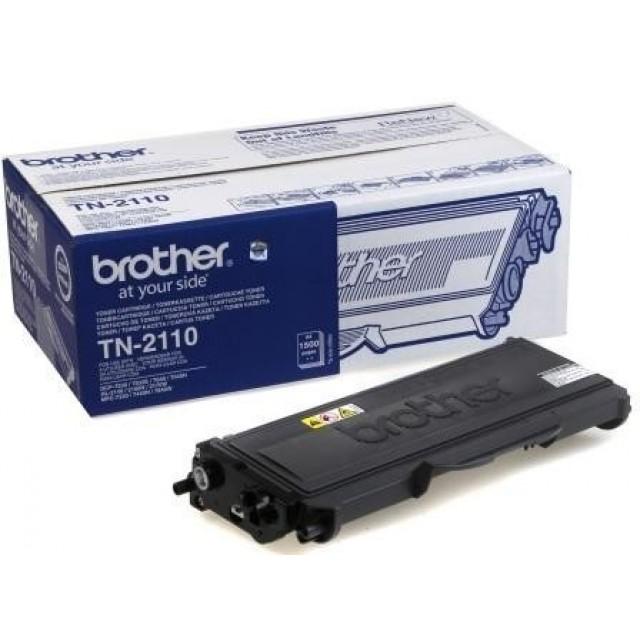 Brother TN-2110 изкупуване на празна черна тонер касета