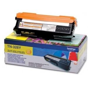 Brother TN-328Y изкупуване на празна жълта тонер касета