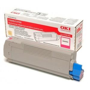 OKI 43381906 изкупуване на празна червена тонер касета за C5600/C5700