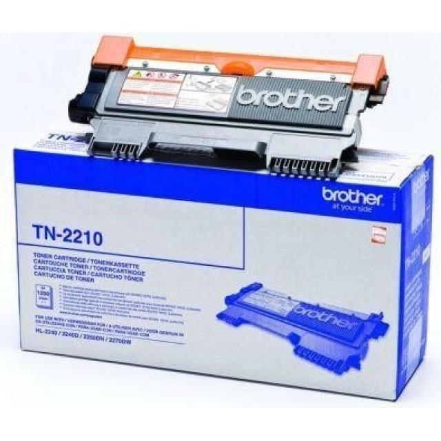 Brother TN-2210 изкупуване на празна черна тонер касета