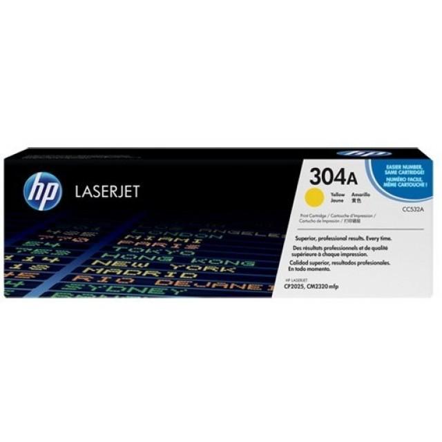 HP CC532A изкупуване на празна жълта тонер касета