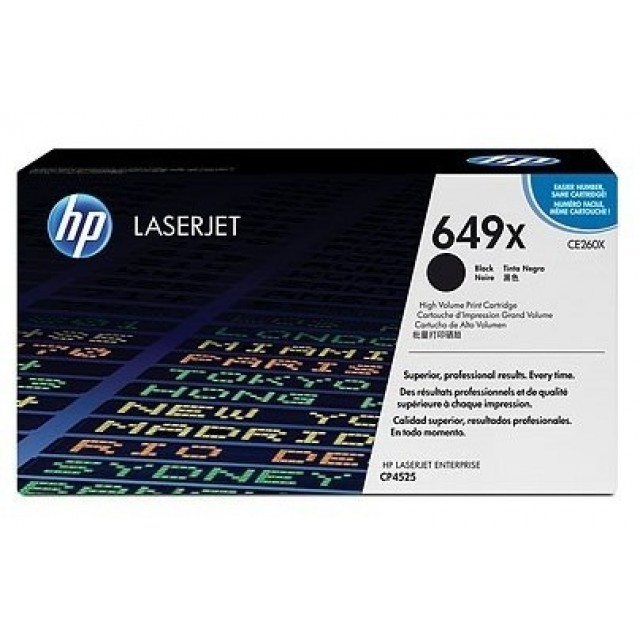 HP CE260X изкупуване на празна черна тонер касета
