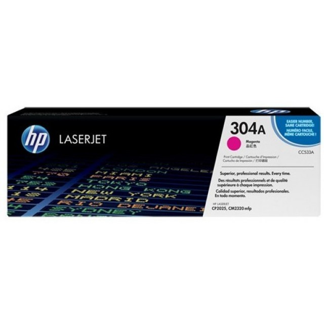 HP CC533A изкупуване на празна червена тонер касета