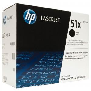 HP Q7551X изкупуване на празна черна тонер касета