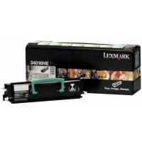 Lexmark 34016HE изкупуване на празна черна тонер касета