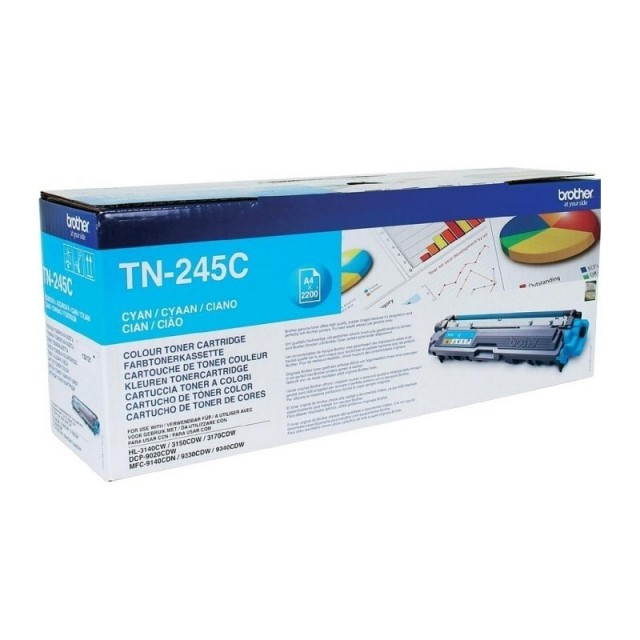Brother TN-245C изкупуване на празна синя тонер касета