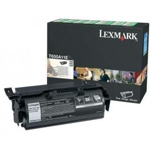 Lexmark T650A11E изкупуване на празна черна тонер касета