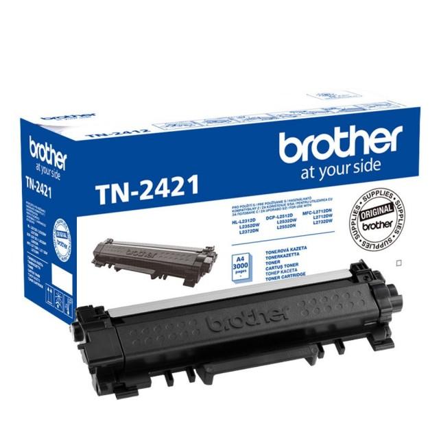 Brother TN-2421 изкупуване на празна черна тонер касета