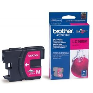 Brother LC-980M червена мастилена касета