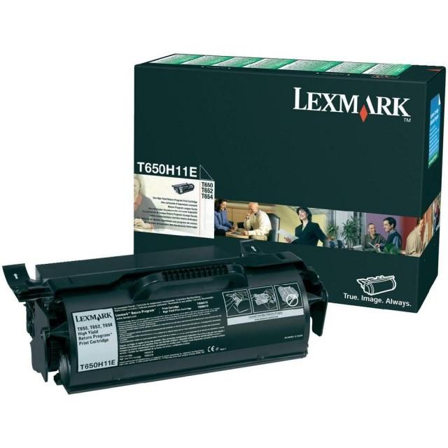 Lexmark T650H11E оригинална черна тонер касета (Return Program)