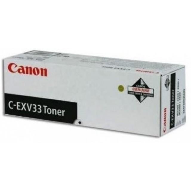 Canon C-EXV 33 оригинална черна тонер касета