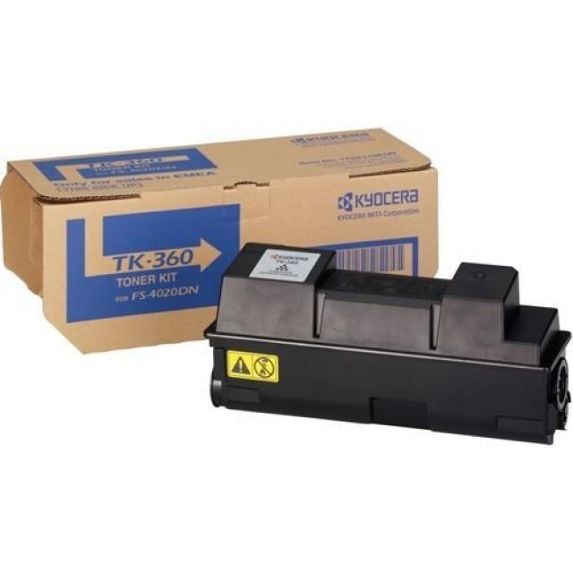 Kyocera TK-360 оригинална черна тонер касета