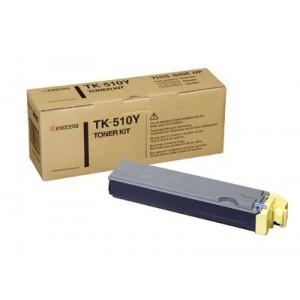 Kyocera TK-510Y оригинална жълта тонер касета