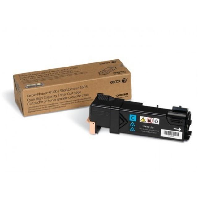 Xerox 106R01601 оригинална синя тонер касета