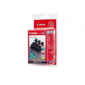 Canon CLI-526 C/M/Y комплект мастилени касети