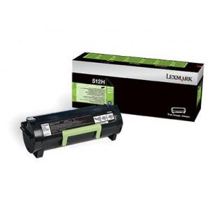 Lexmark 51F2H00 оригинална черна тонер касета (Return Program)
