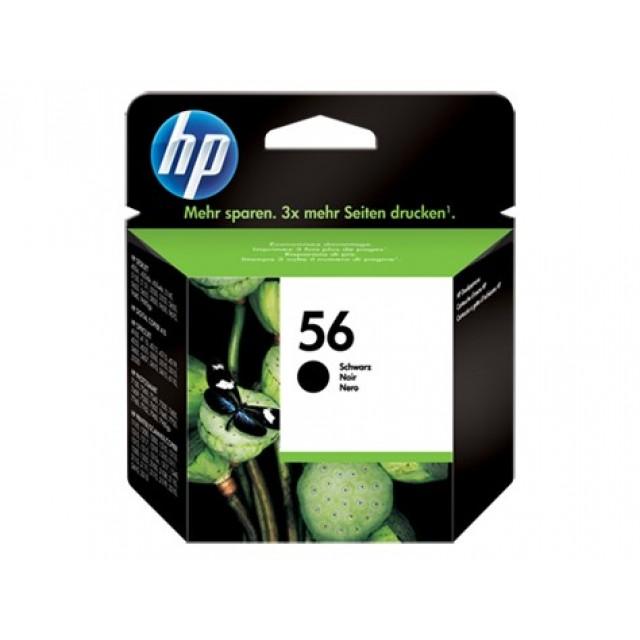 HP C6656AE черна мастилена касета 56