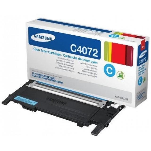 Samsung CLT-C4072S оригинална синя тонер касета