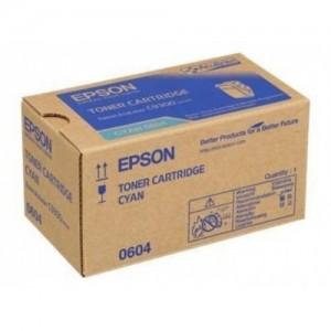 Epson C13S050604 оригинална синя тонер касета