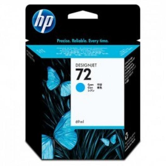 HP C9398A синя мастилена касета 72