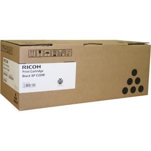 Ricoh SPC220BLK оригинална черна тонер касета 406052