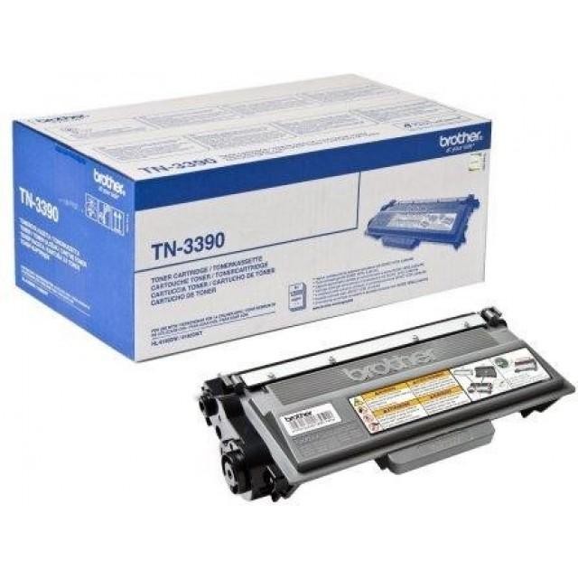 Brother TN-3390 оригинална черна тонер касета