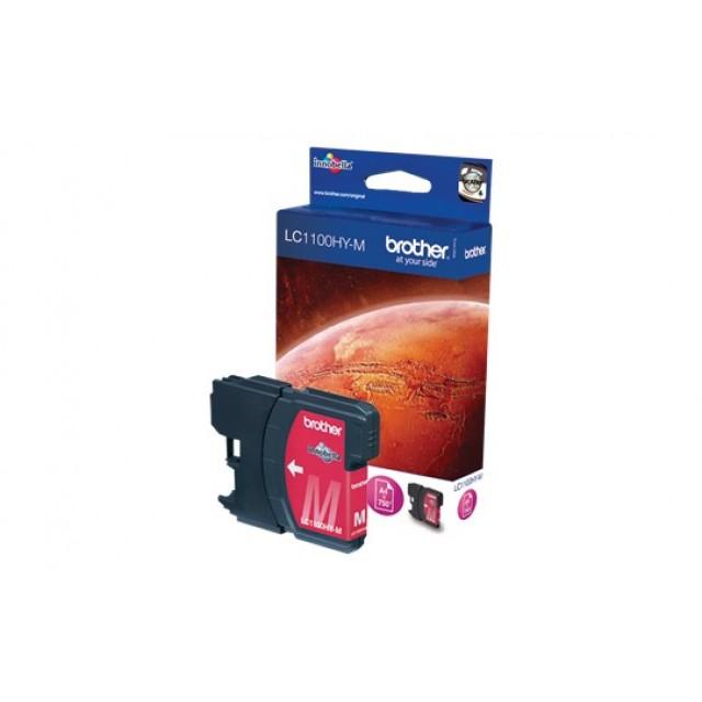 Brother LC-1100HYM червена мастилена касета