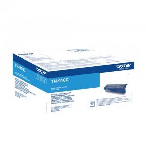Brother TN-910C оригинална синя тонер касета