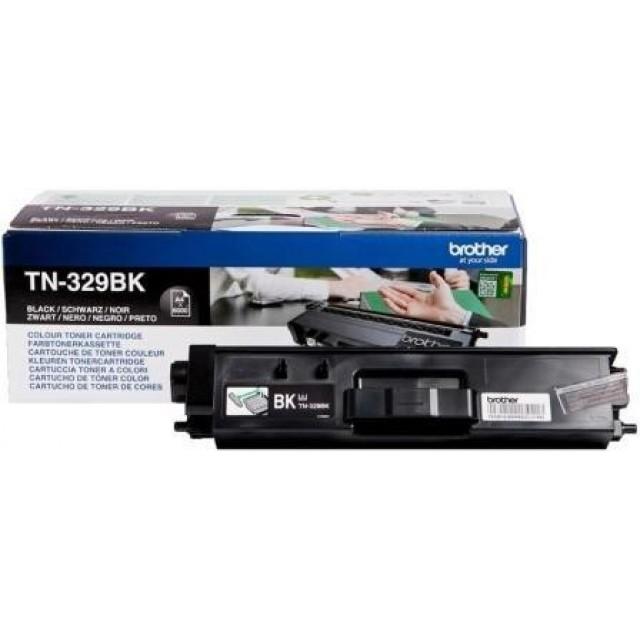 Brother TN-329BK оригинална черна тонер касета