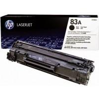 HP CF283A оригинална черна тонер касета 83A