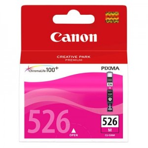 Canon CLI-526M червена мастилена касета