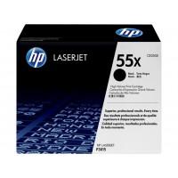 HP CE255X оригинална черна тонер касета 55X