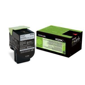 Lexmark 80C2SK0 оригинална черна тонер касета (Return Program)