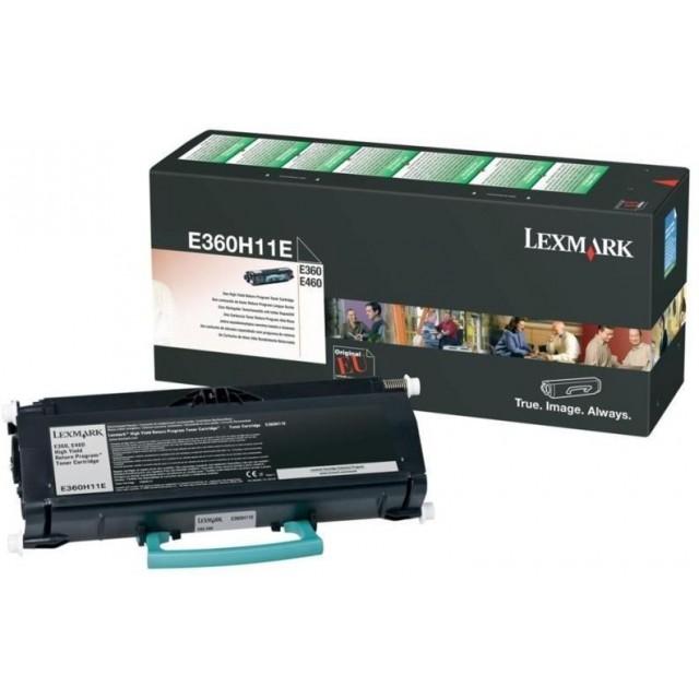 Lexmark E360H11E оригинална черна тонер касета (Return Program)