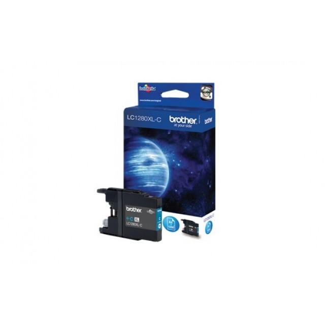Brother LC-1280XLC синя мастилена касета