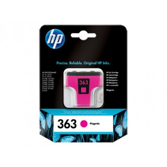 HP C8772EE червена мастилена касета 363