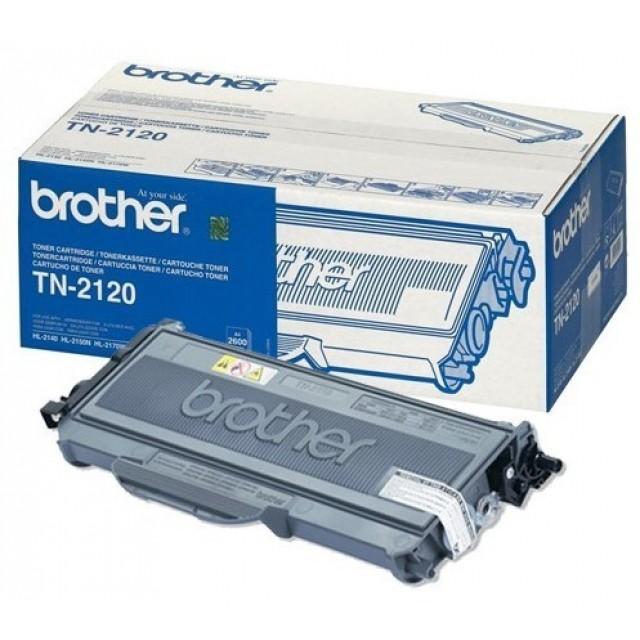Brother TN-2120 оригинална черна тонер касета