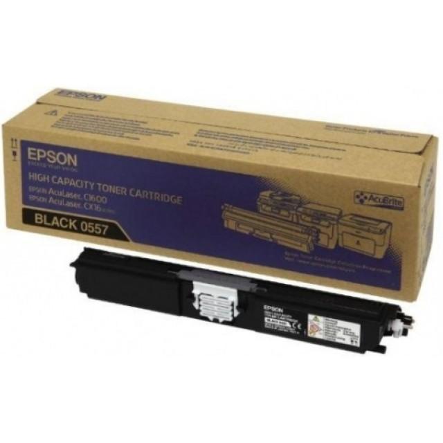 Epson C13S050557 оригинална черна тонер касета