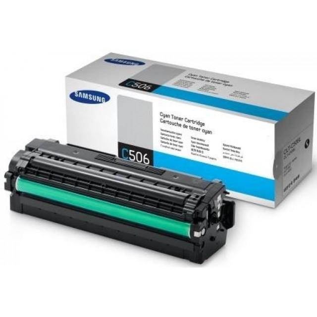 Samsung CLT-C506L оригинална синя тонер касета