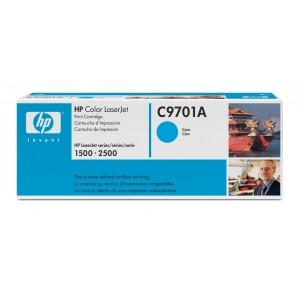 HP C9701A оригинална синя тонер касета 121A