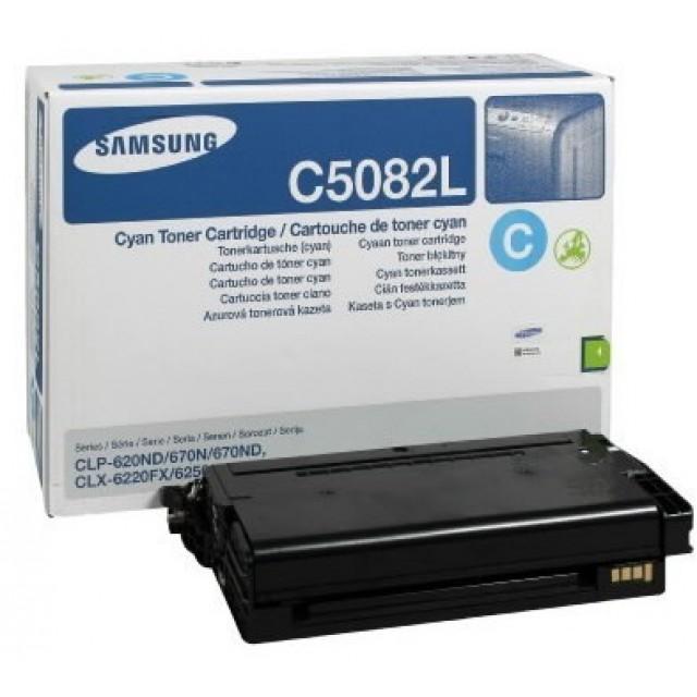 Samsung CLT-C5082L оригинална синя тонер касета